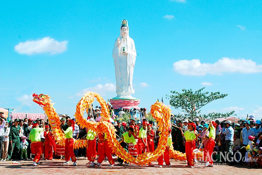 Lễ hội Quan Âm Nam Hải