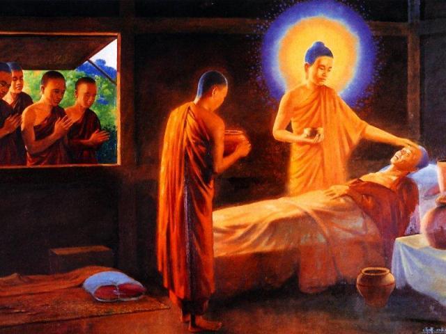 Điều trị bệnh theo quan điểm của Phật giáo