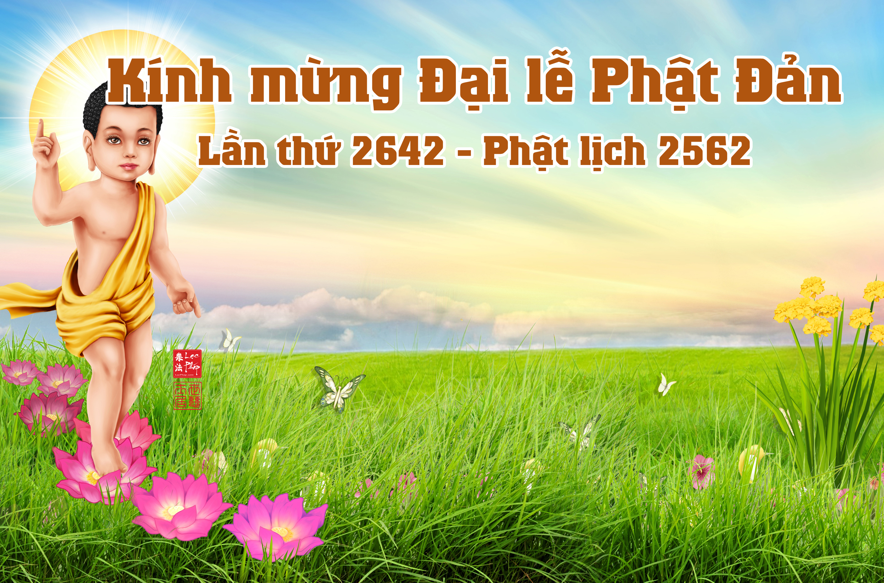 KÍnh mừng đại lễ Phật đản