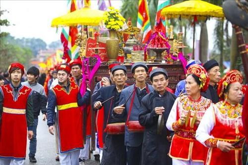 Bắc Ninh: Lễ hội chùa Dâu