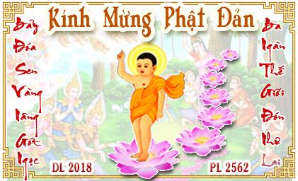 Đại lễ Phật Đản 2018