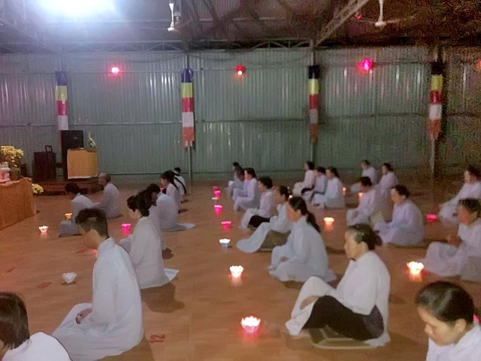 Chùa Quảng Minh tổ chức Lễ tưởng niệm ngày đức Bổn Sư Thích Ca Mâu Ni thành đạo