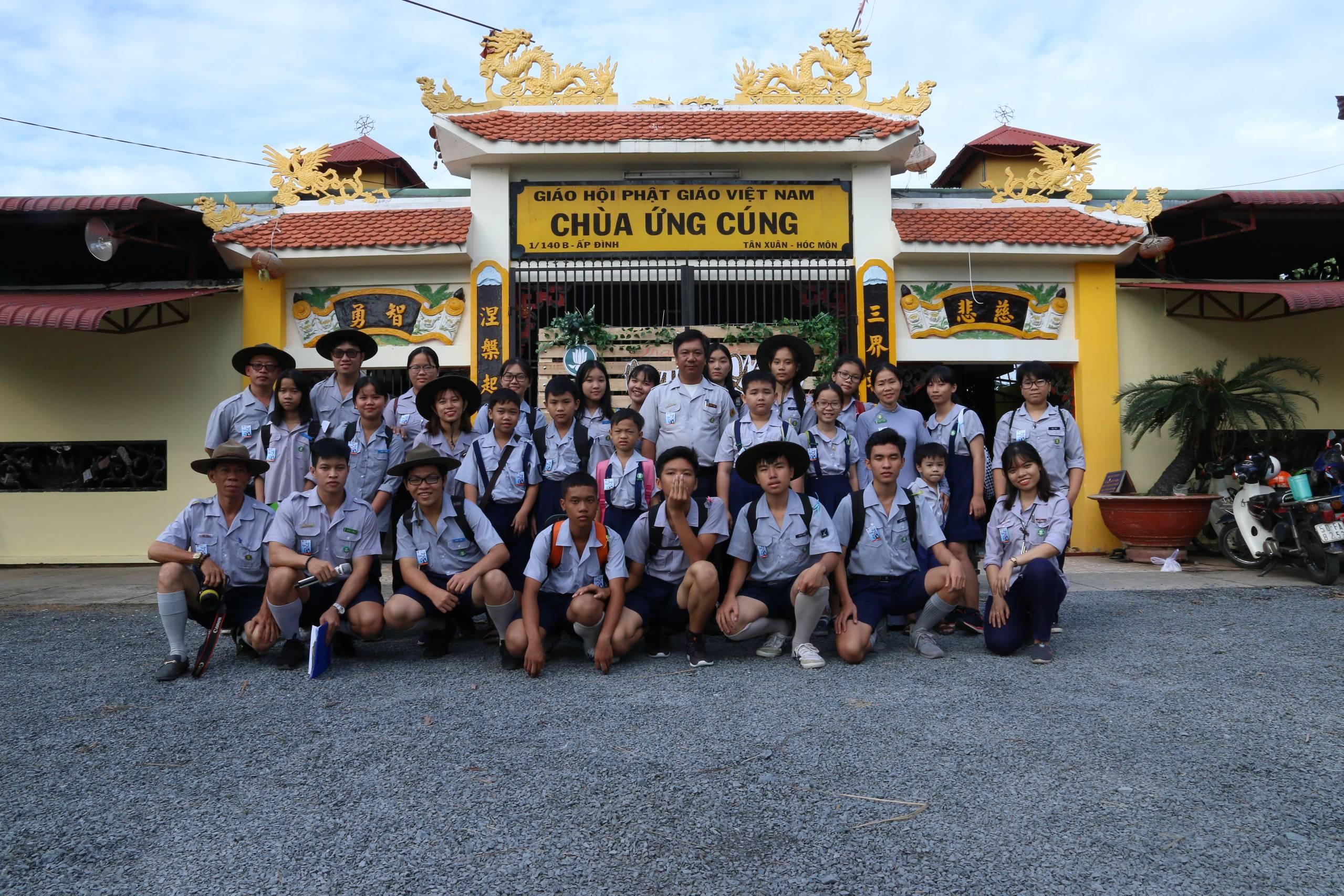 Chùa Ứng Cúng tổ chức Lễ Quy Y và Phát nguyện nhân kỷ niệm Vía Đức Phật thành đạo (PL 2563 - DL 2019)
